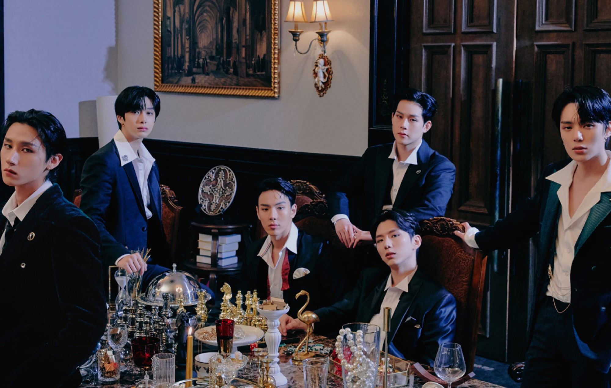 MONSTA X pull off a heist in thrilling music video for 'Gambler'