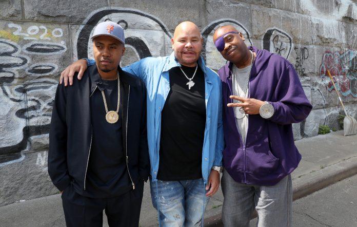 Nas, Fat Joe and Slick Rick break ground at the new Universal Hip Hop Museum site