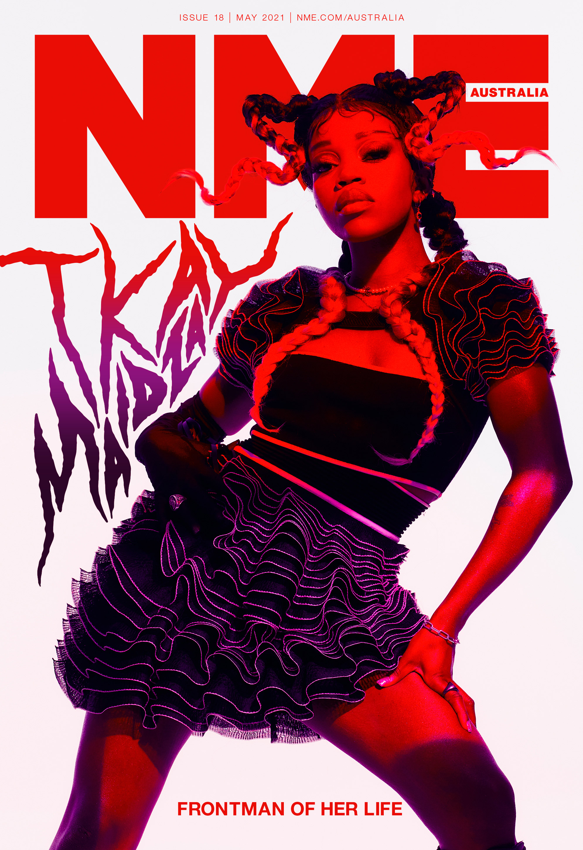 NME Cover AU 2021 Tkay Maidza