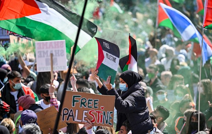 Glasgow Palestine protest