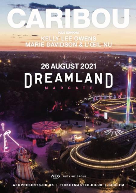 Caribou at Dreamland