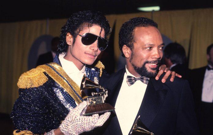 Quincy Jones and Michael Jackson