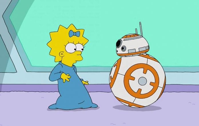 The Simpsons Star Wars