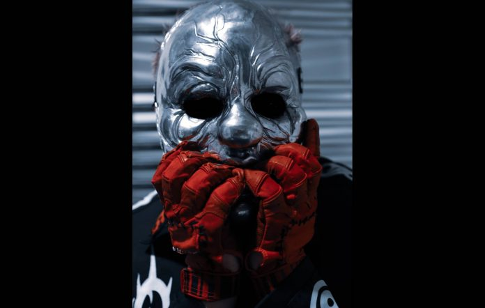 Slipknot's Clown launches special edition pre-rolled 'Clown Cannabis' joints. Credit: Press