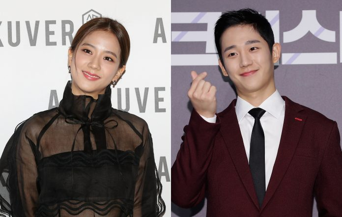 Kdrama Snowdrop, Jisoo and Jung Hae-in