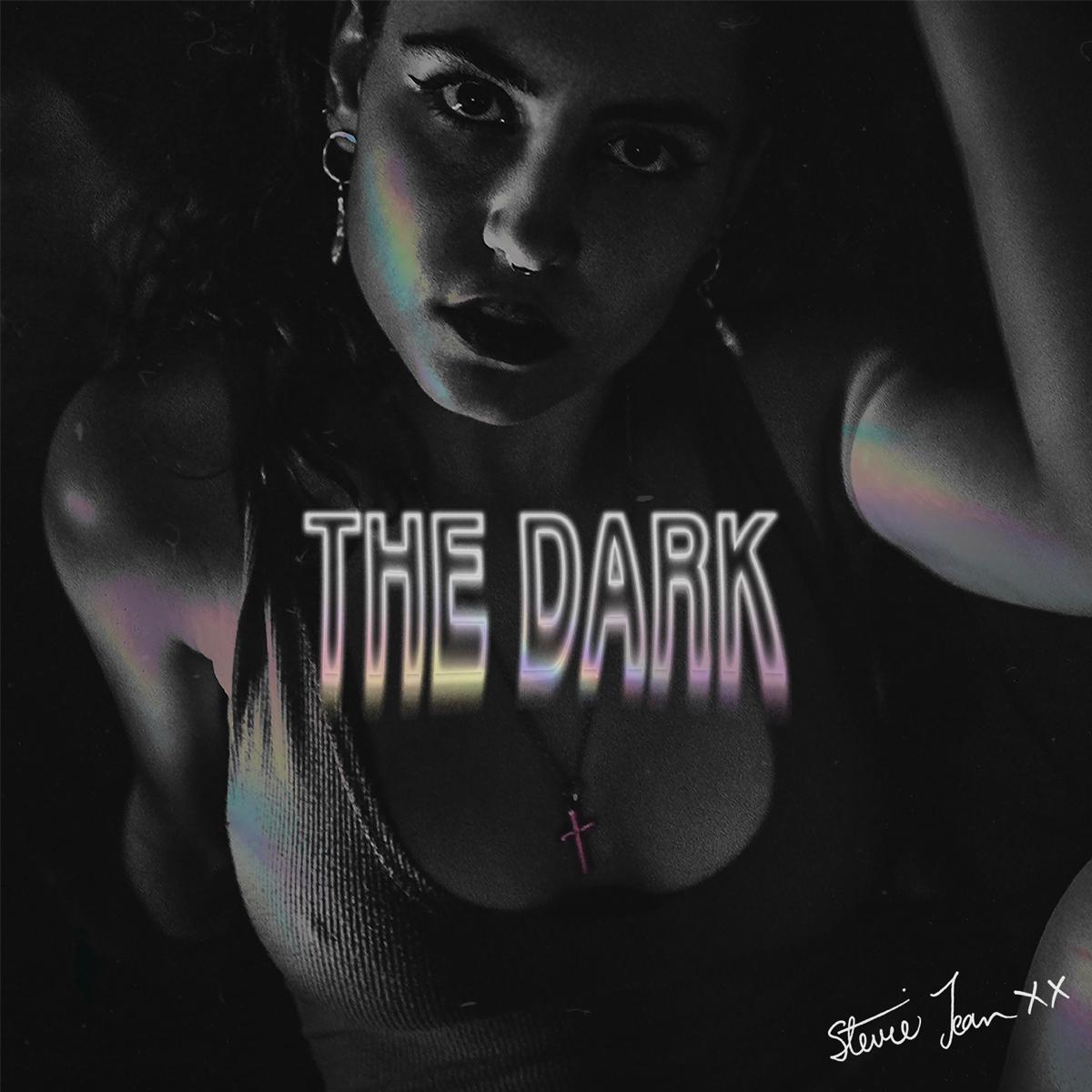 Stevie Jean The Dark album cover art