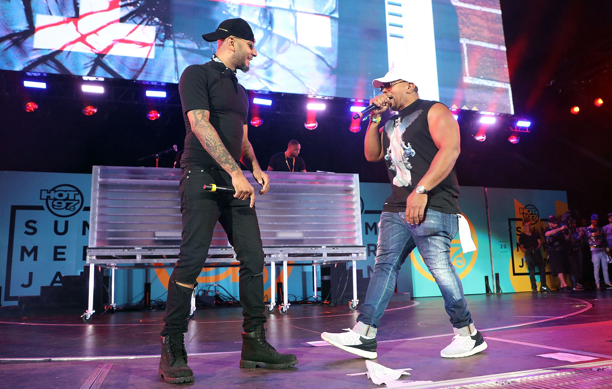 Swizz Beatz and Timbaland dedicate Verzuz rematch to DMX and Aaliyah