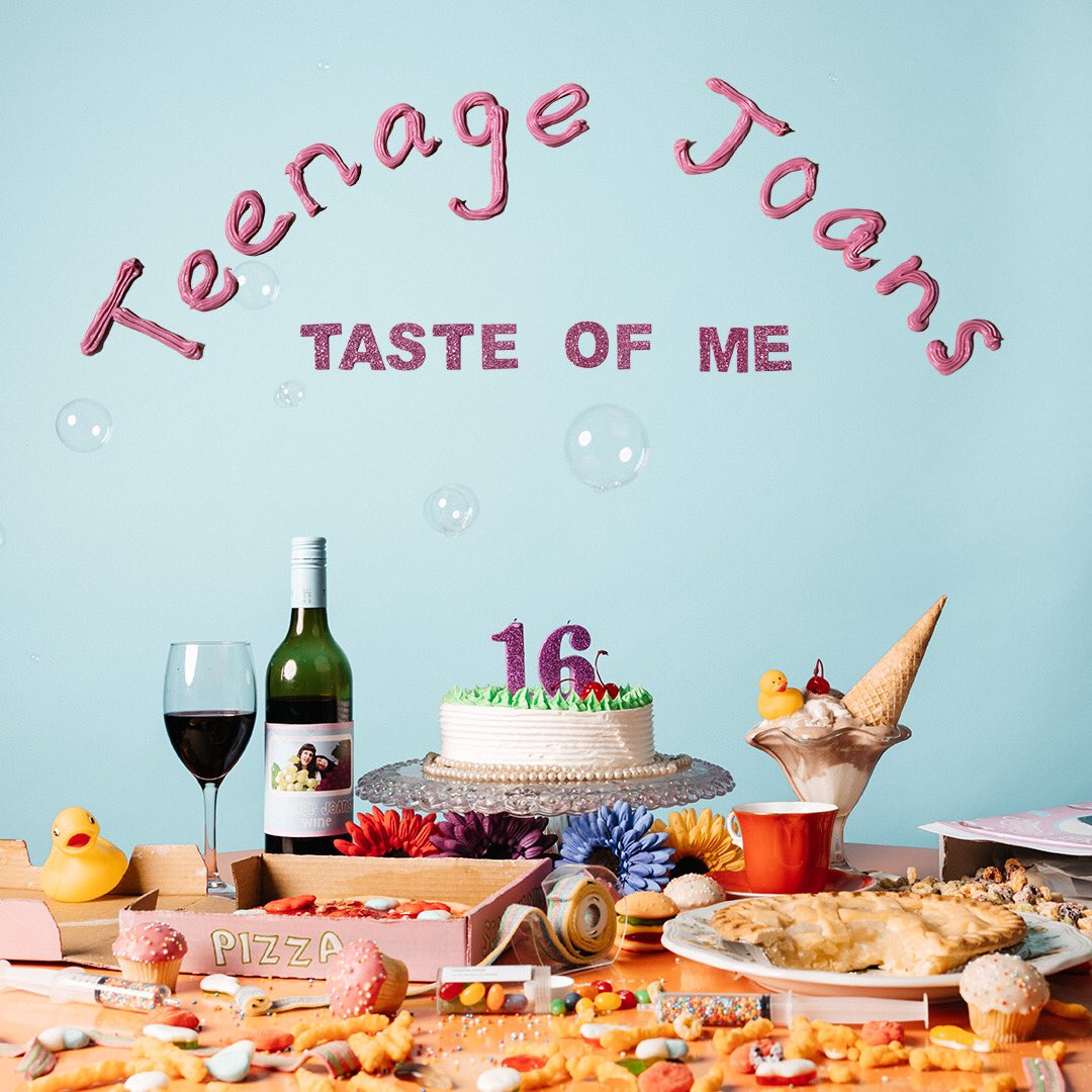 Teenage Joans Taste Of Me EP cover art