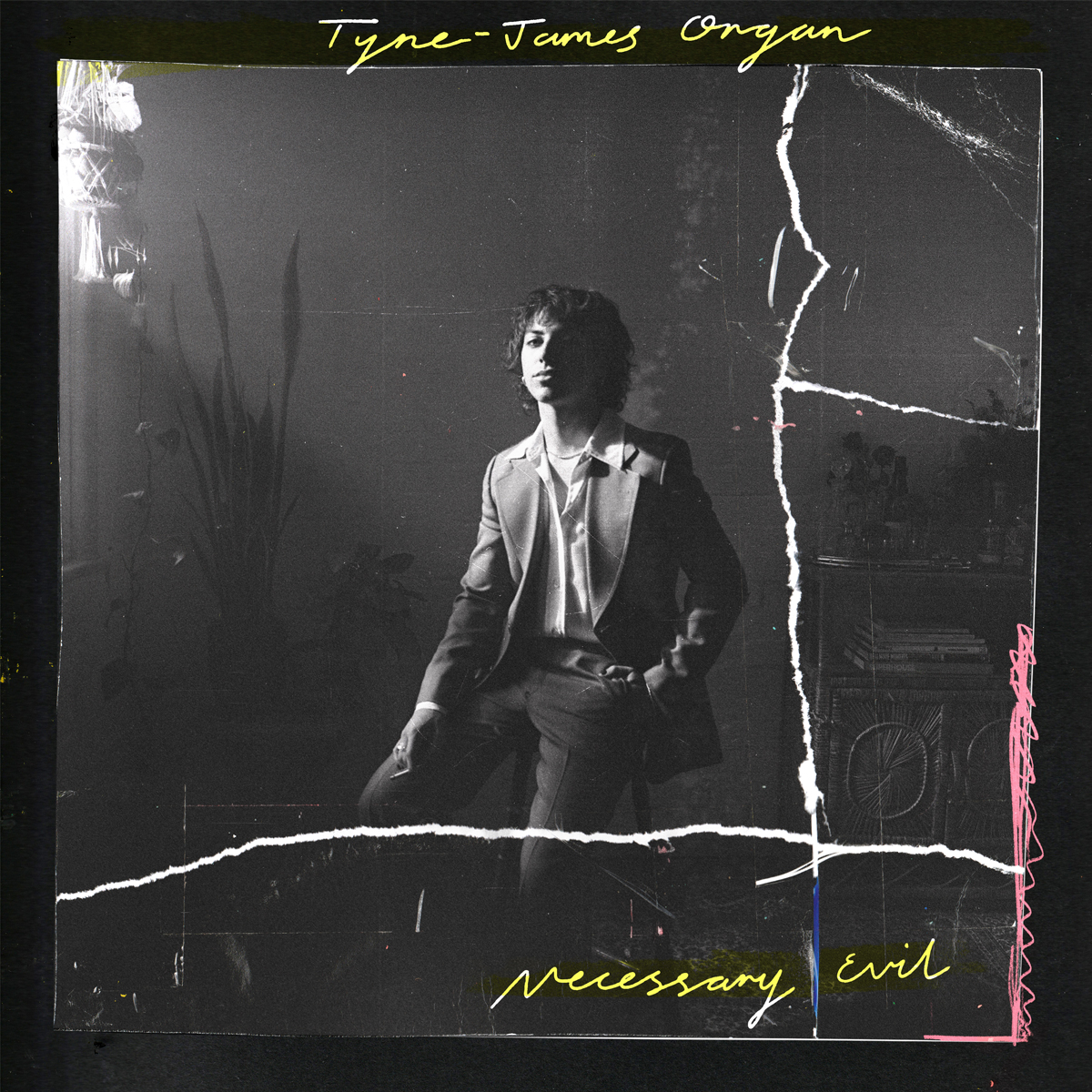 Tyne James Organ Necessary Evil album cover art
