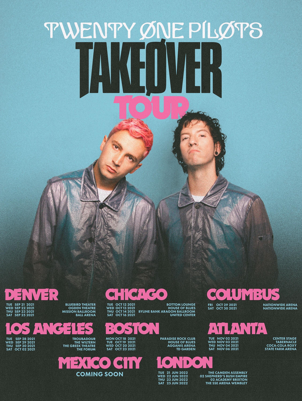 Twenty One Pilots' 'Takeøver Tour'