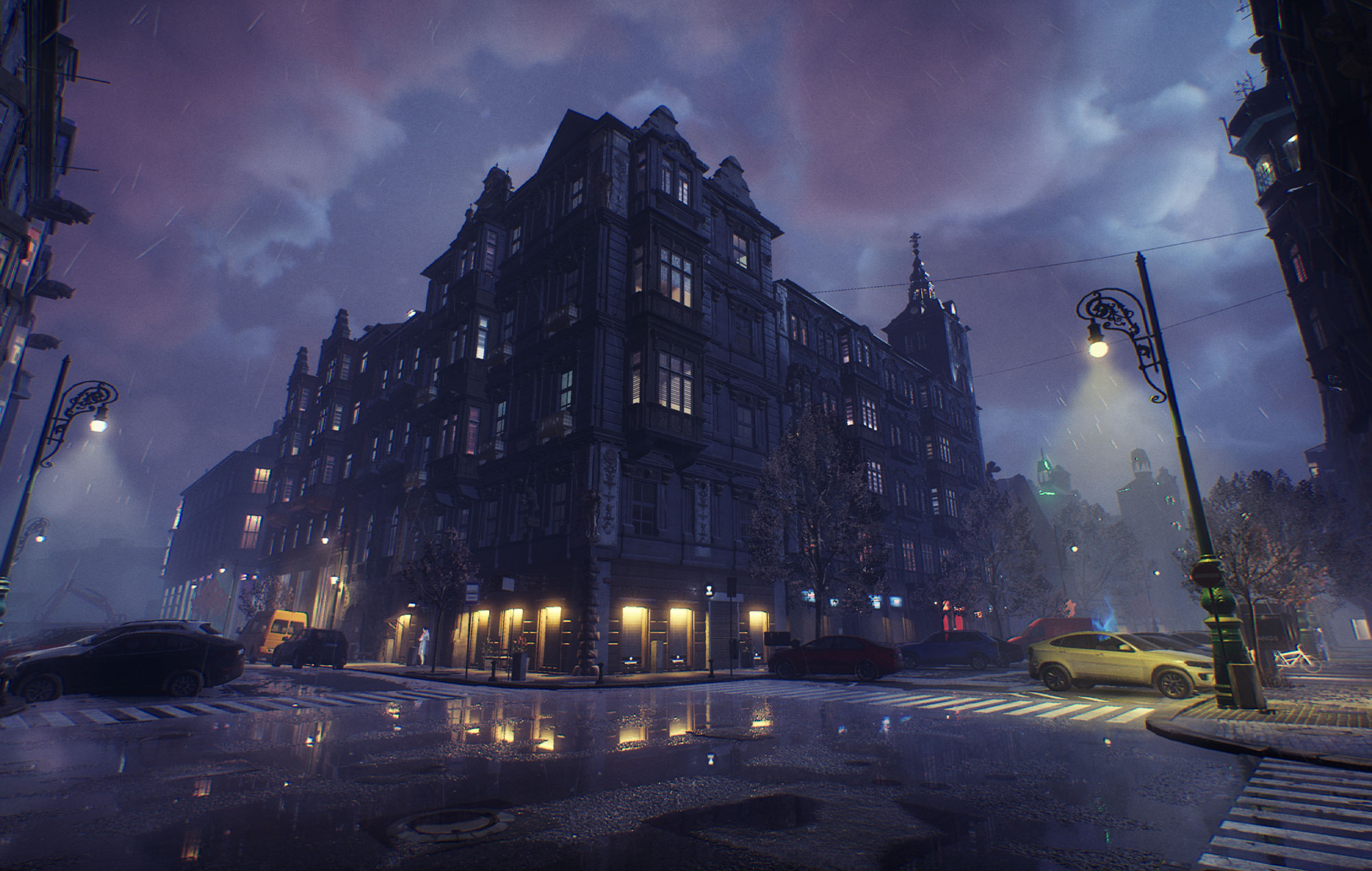 Bloodhunt Streets of Prague