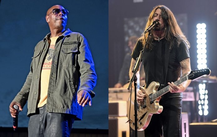 Dave Chappelle and Foo Fighters' Dave Grohl