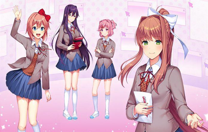 Doki Doki Literature Club. Image Credit: Team Salvato