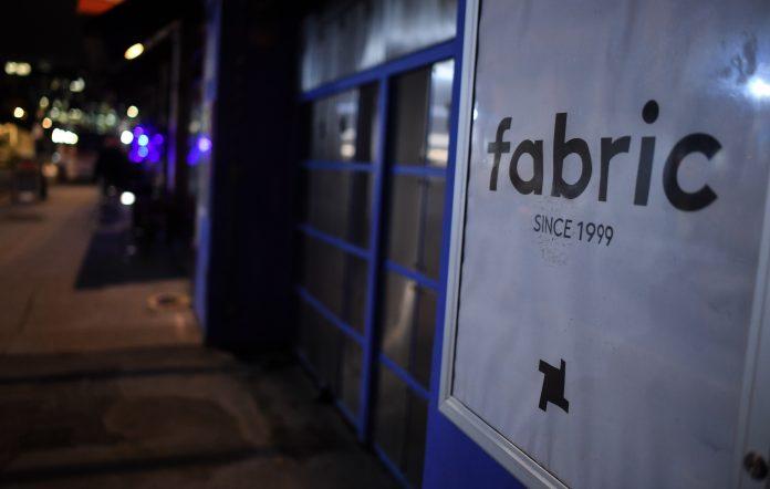 Fabric nightclub's exterior