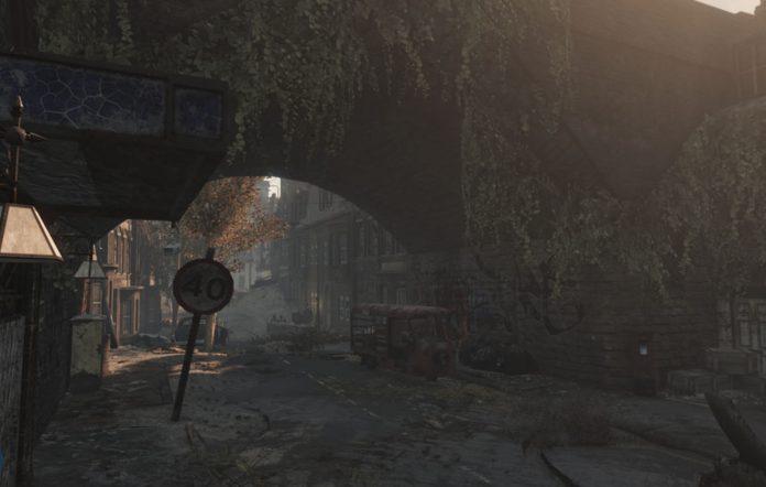 Fallout: London Street Screenshot