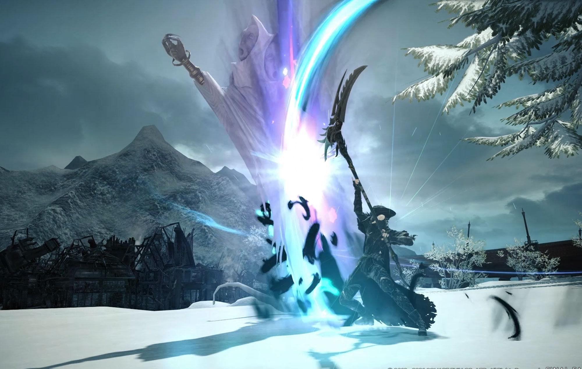 Final Fantasy XIV Online Endwalker Reaper Job