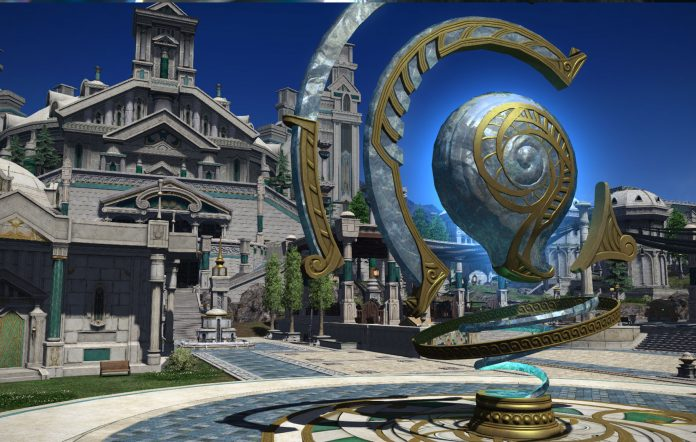 Final Fantasy XIV Online: Endwalker. Sharlayan