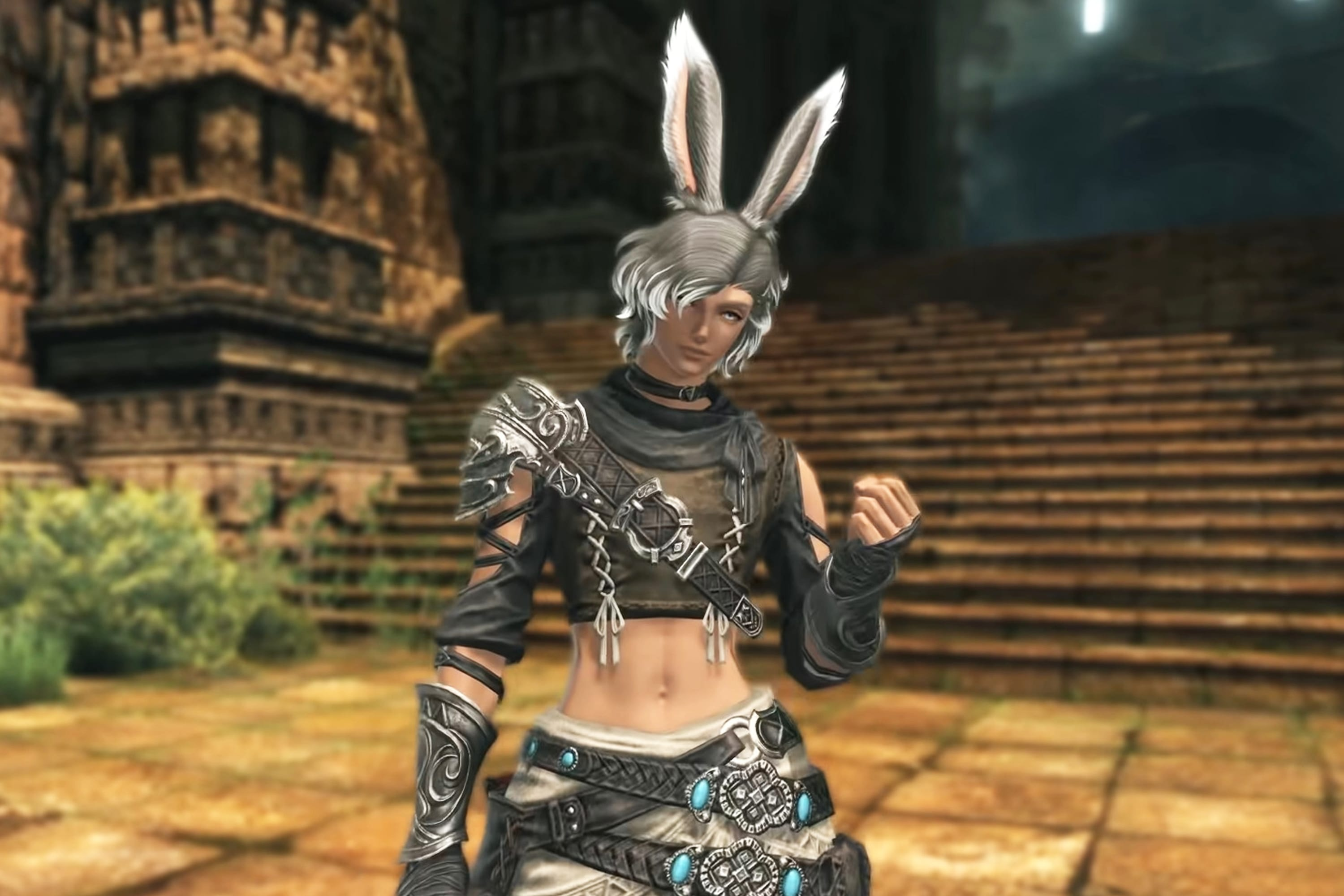 Final Fantasy Xiv Artists Used Their Free Time To Create The Male Viera
