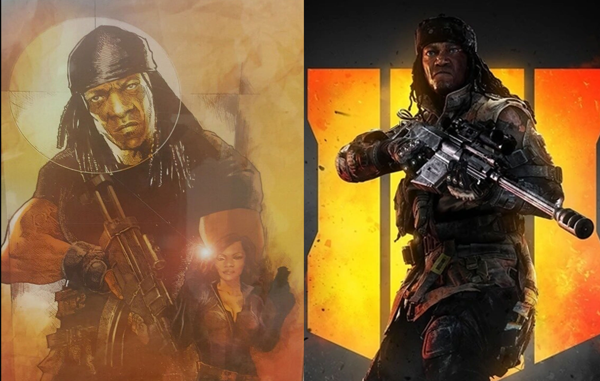 G.I. Bro and Prophet from Call Of Duty Black Ops 4. Credit: Booker T. Huffman/Activision