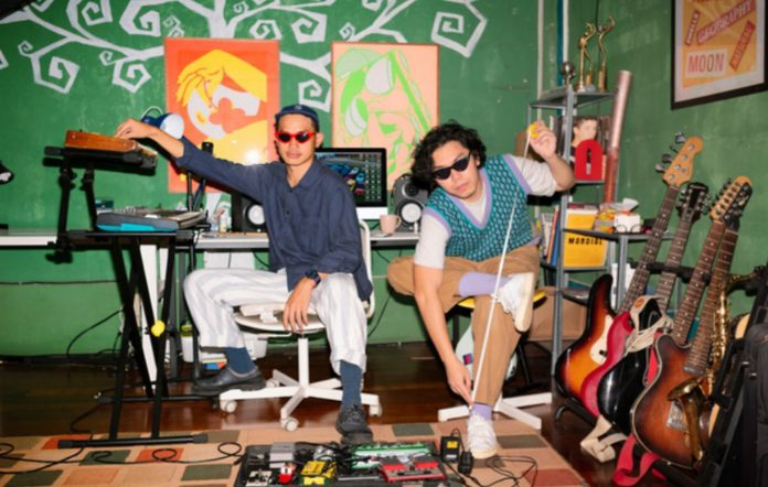 Watch Indonesian art-punk duo Glyph Talk's hypnotising video for 'Fits'