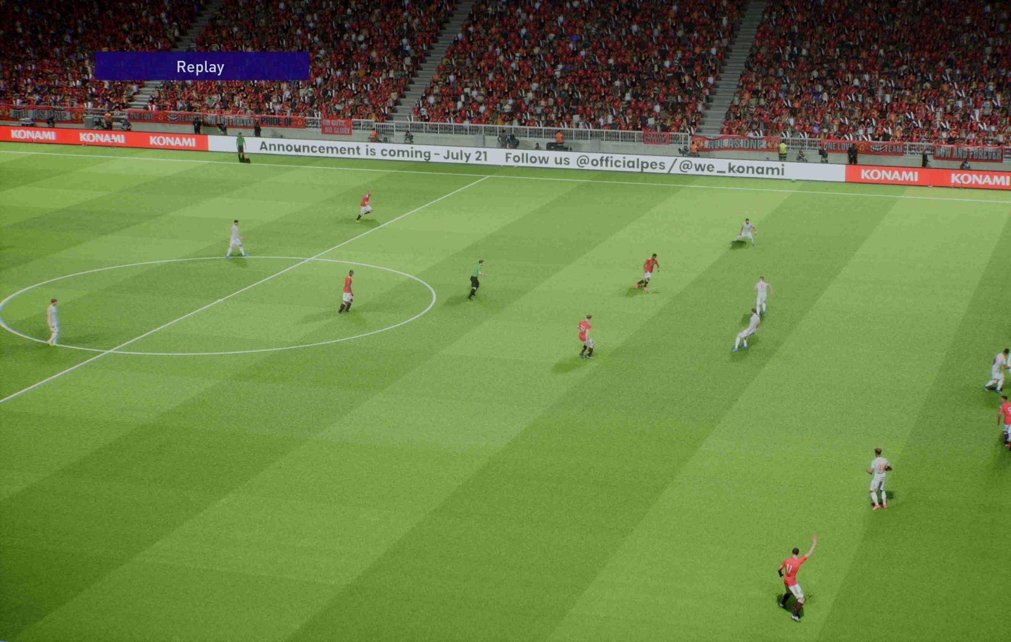 New Football Game online performance test. Credit: Konami
