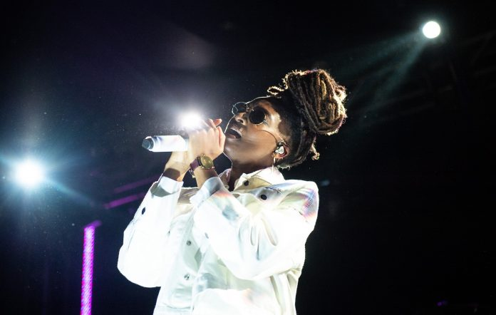 Little Simz performs at EartH Hackney, London