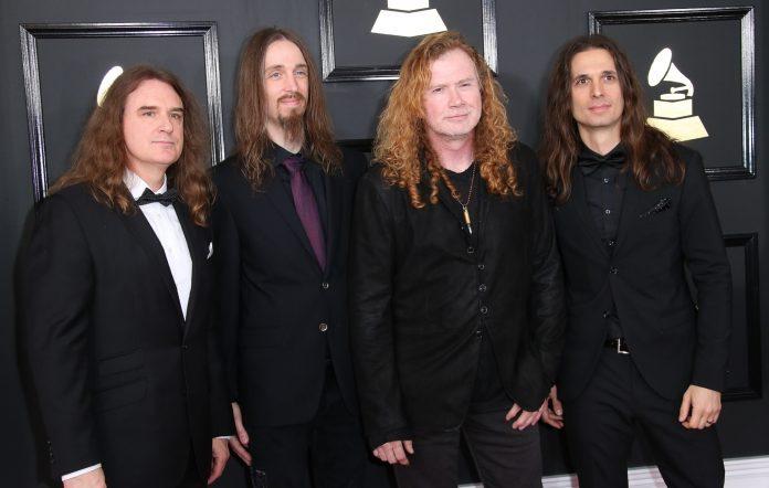 Megadeth group shot