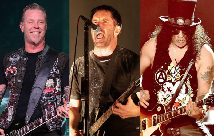 Hellfest - Metallica, Nine Inch Nails and Guns N' Roses