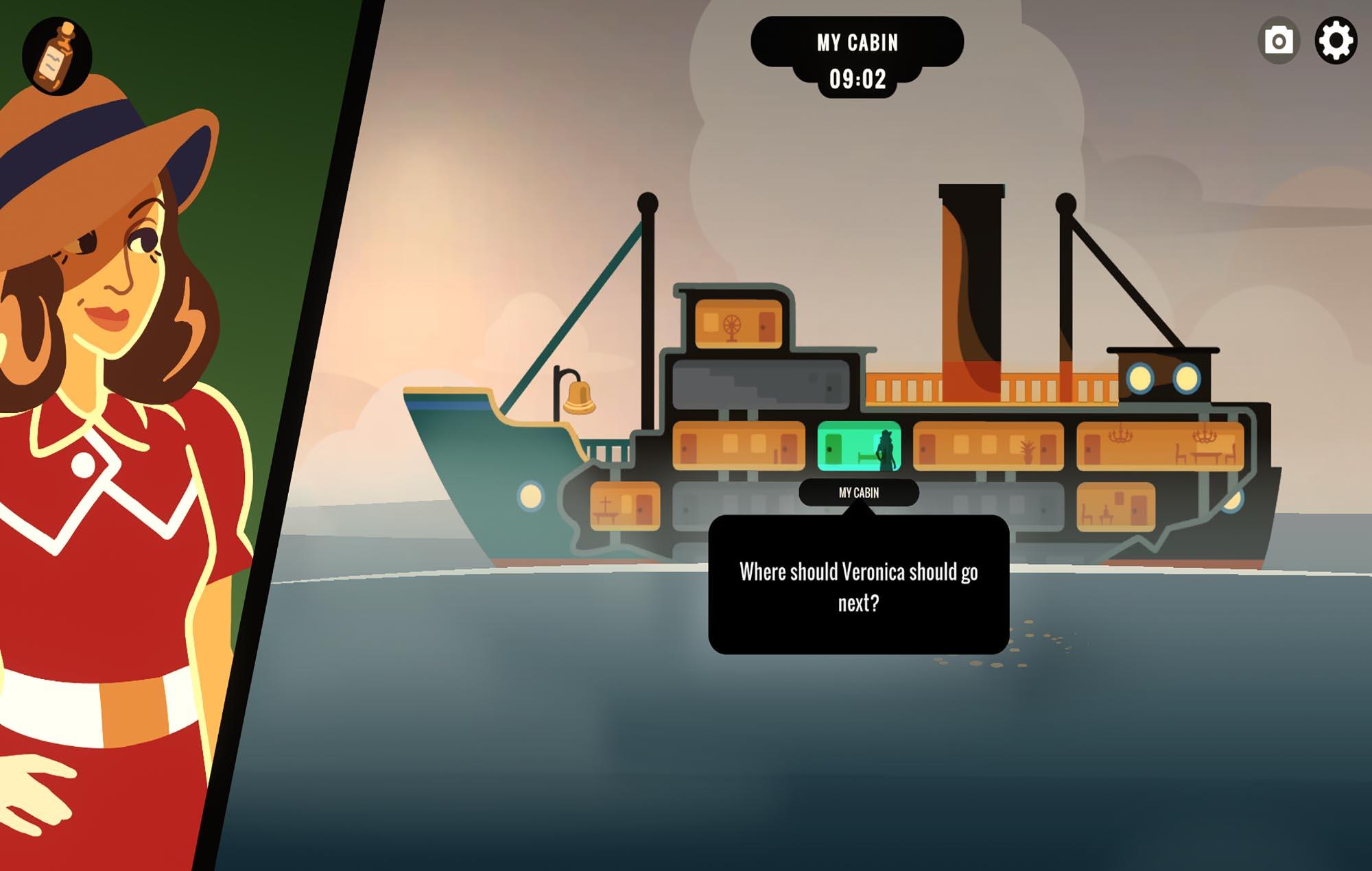 Overboard! Image credit: Inkle Studios