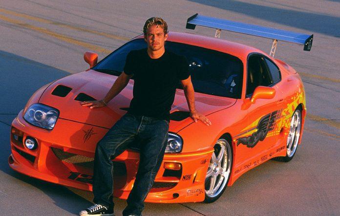 Paul Walker in 'The Fast & Furious' (2001)