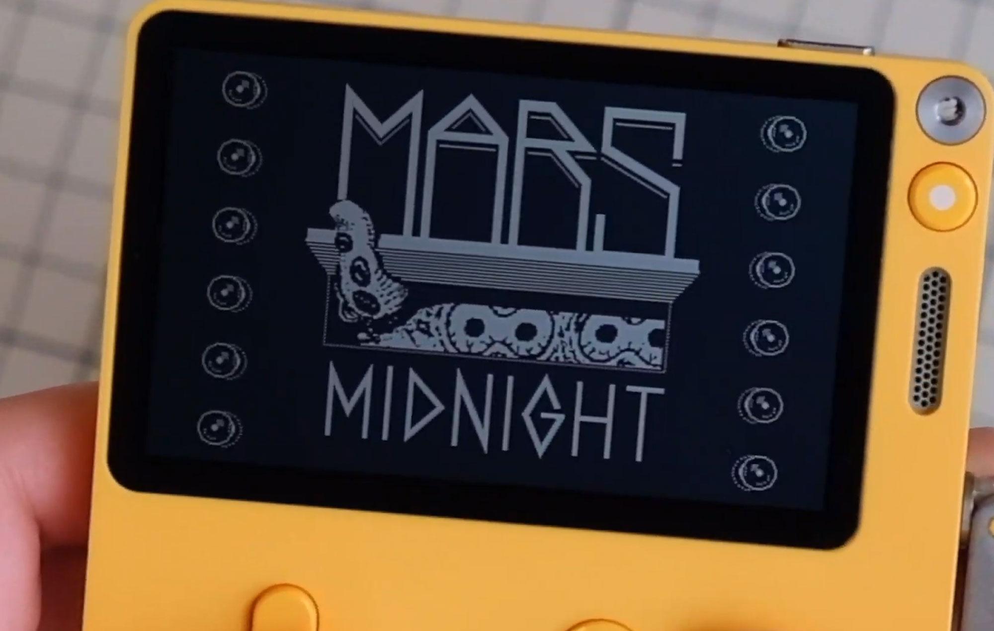 Playdate: Mars after Midnight