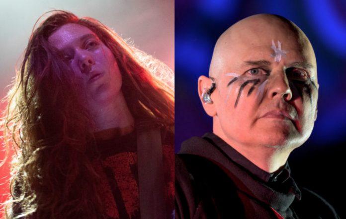 Reba Meyers of Code Orange and Billy Corgan