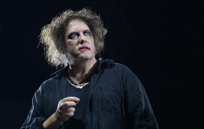 The Cure frontman Robert Smith