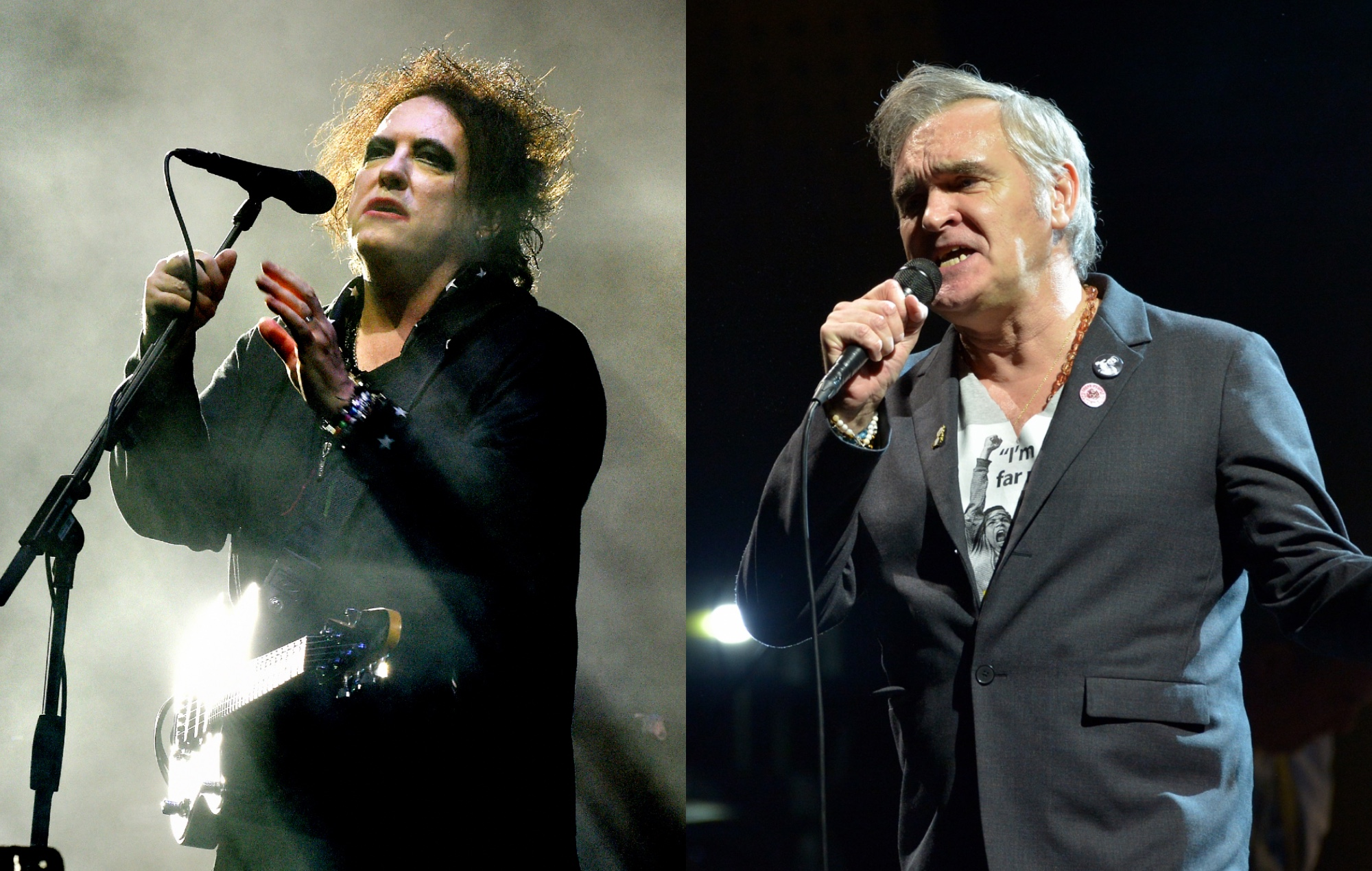 """The Cure's Robert Smith has addressed an ongoing """"imaginary feud"""" with Morrisey of The Smiths"""