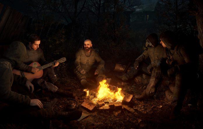 Stalker 2: Heart Of Chernobyl campfire screenshot