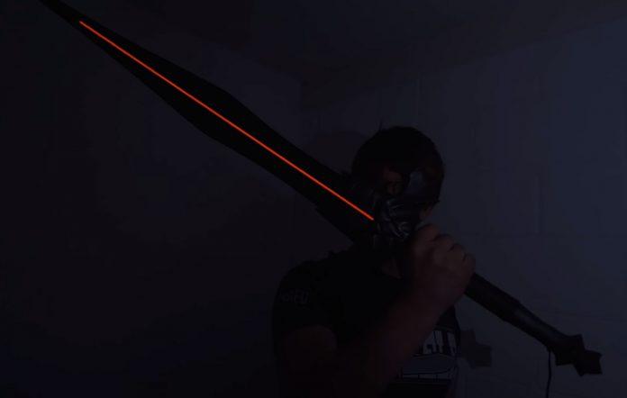 Alec Steele creates a sword from The Elder Scrolls Onlin
