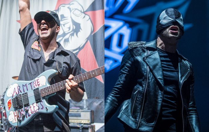 Tom Morello and The Bloody Beetroots' Bob Rifo