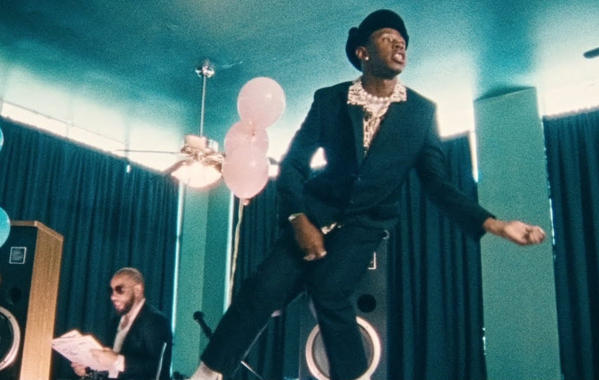 Watch Tyler, The Creator perform at a kid's birthday in the new video for 'Corso'