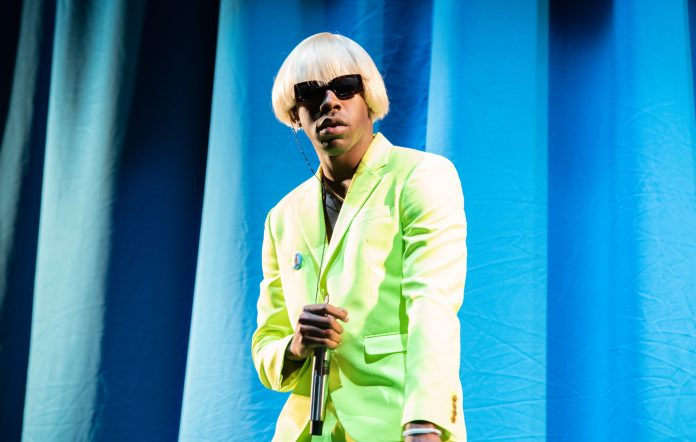 Tyler, the Creator performs at the 2019 Governors Ball