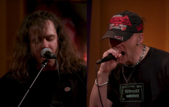 Watch DZ Deathrays and Nerve team up for explosive cover of N.E.R.D