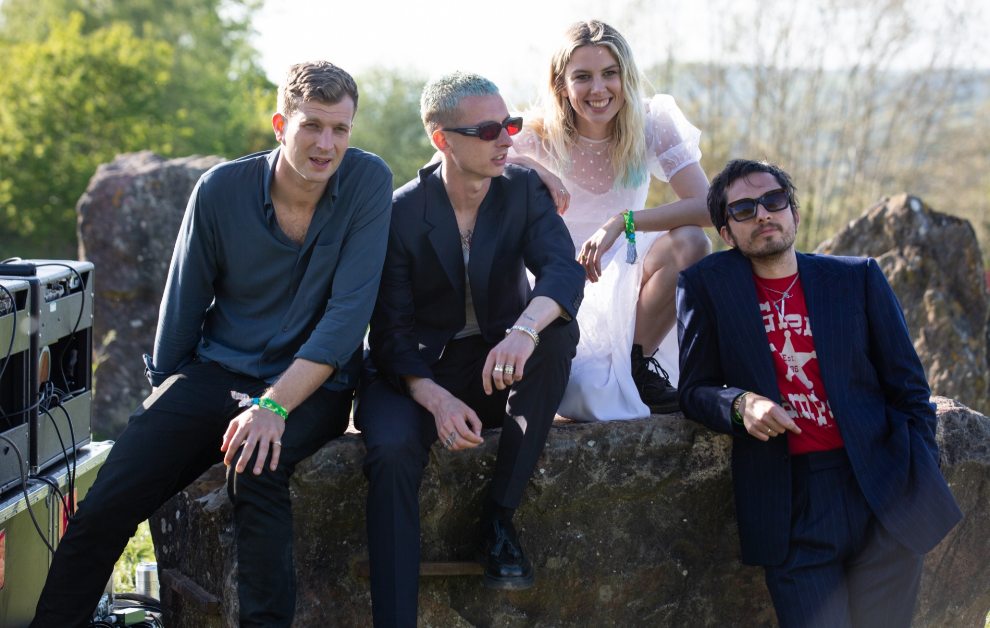 Watch Wolf Alice's blistering live performance of 'Smile'