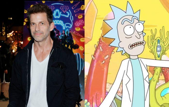 Zack Snyder - Rick And Morty