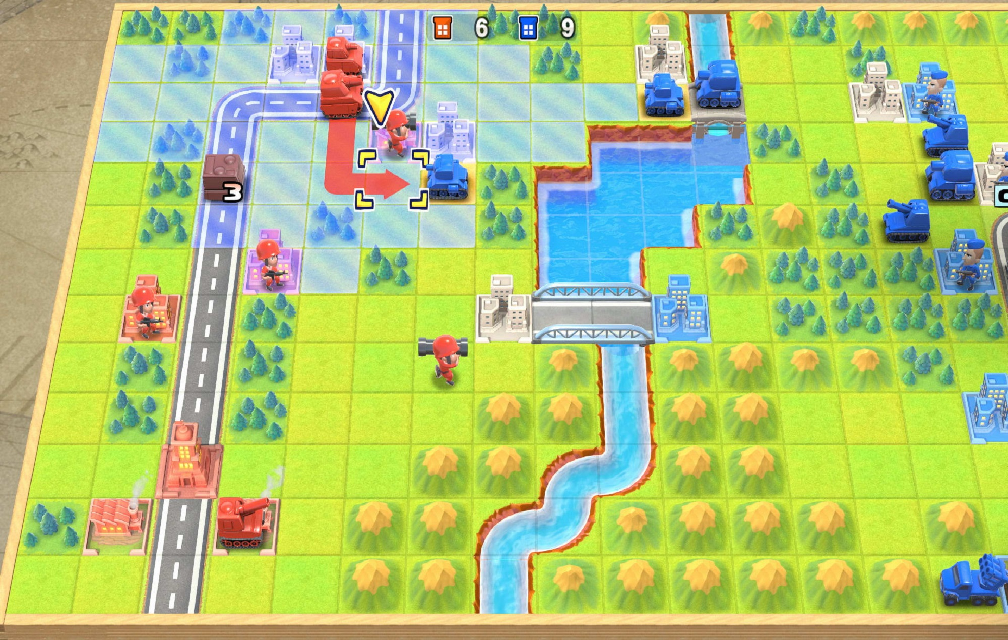 'Advance Wars' makes a glorious return after 13 years in remake collection