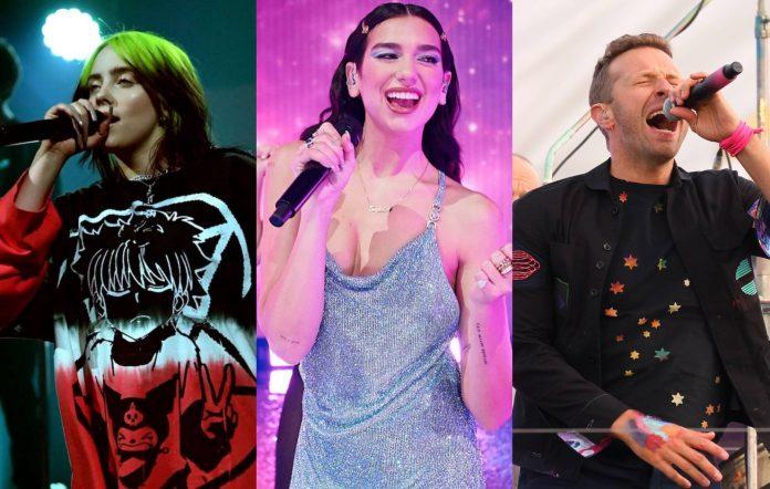 Billie Eilish, Dua Lipa And Coldplay To Play IHeartRadio Festival 2021
