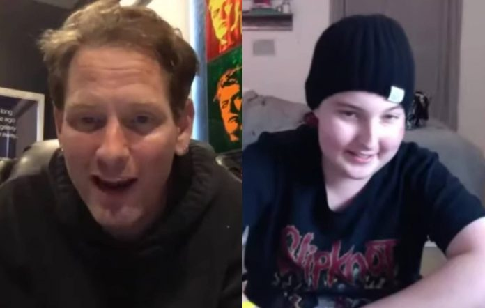 Corey Taylor and Trevor