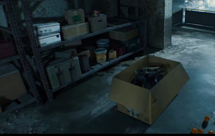 Death Stranding box