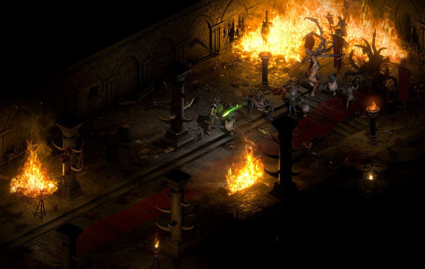 Diablo II: Resurrected indeholder ikke ægte ultrawide