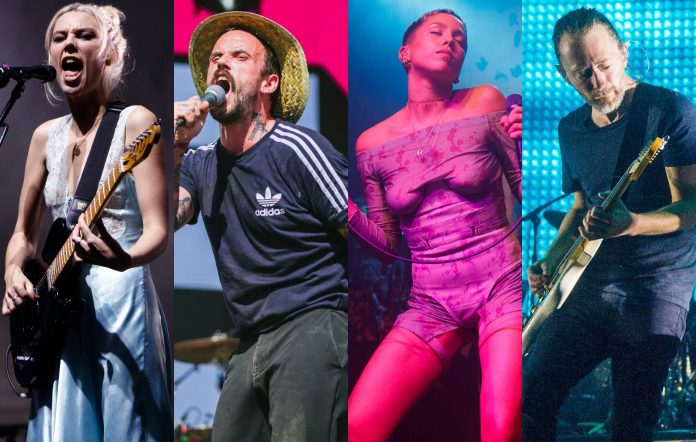 Wolf Alice, IDLES, Poppy Ajudha and Radiohead are among the 200 artists who have come together for #LetTheMusicMove Brexit touring campaign. Credit: Getty/NME