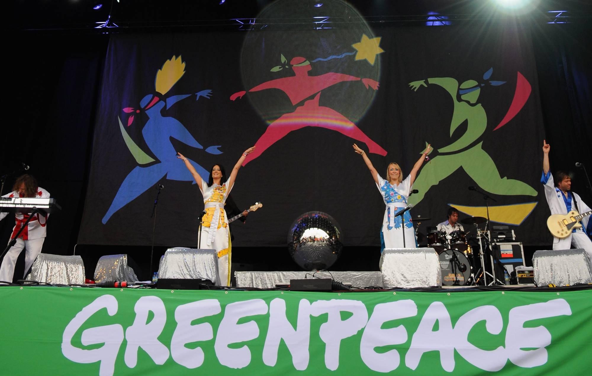 glastonbury greenpeace