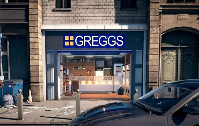 Greggs in Far Cry 5. Image Credit: Mojo Swoptops on YouTube/Ubisoft